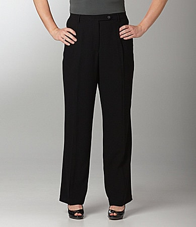 Peter Nygard Woman Double-Pleat Trousers