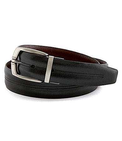 Roundtree & Yorke Reversible Leather Dress Belt