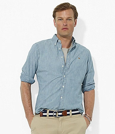 Polo Ralph Lauren Classic-Fit Chambray Sportshirt
