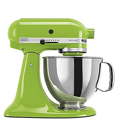 KitchenAid Artisan Green Apple 5-Quart Tilt-Head Stand Mixer