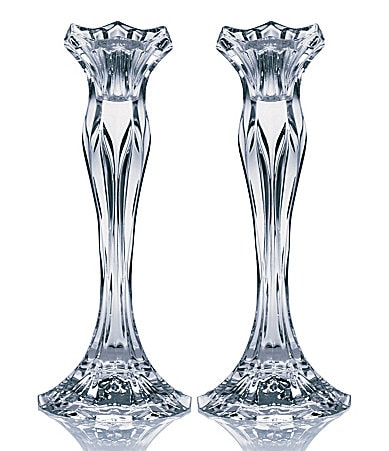 Celebrations by Mikasa Blossom Candlestick Pair