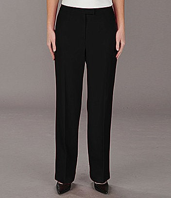 Peter Nygard Petites Straight-Leg Pants