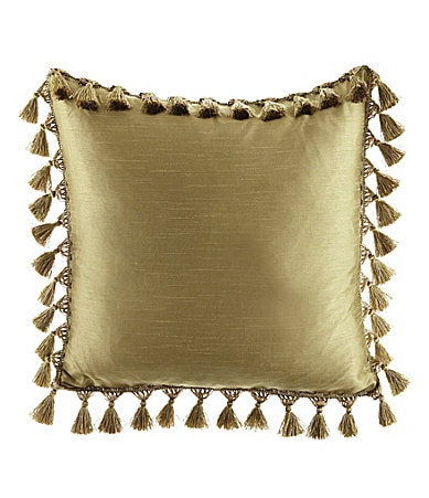 Spencer Industries Faux Silk Decorative Pillow