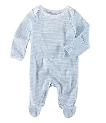 Ralph Lauren Childrenswear Newborn Striped Sleeper