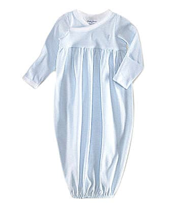 Ralph Lauren Childrenswear Newborn  Striped Gown