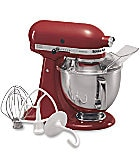 KitchenAid Artisan Empire Red 5-Quart Tilt-Head Stand Mixer