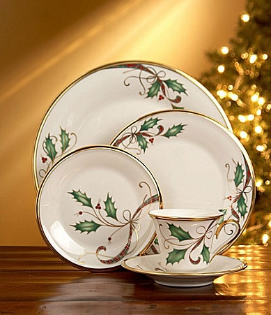Lenox Holiday Nouveau China