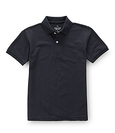 Class Club 2T-7 Solid Pique Polo Shirt