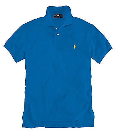 Polo Ralph Lauren Big & Tall Solid Mesh Polo Shirt
