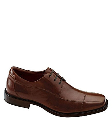 Johnston & Murphy Dobson Cap-Toe Dress Oxfords