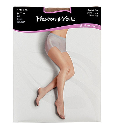 Preston & York Shimmer Hosiery