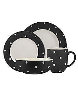 Spode Baking Days Black Dinnerware