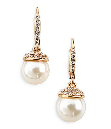 Cezanne 10mm Pearl Drop Earrings