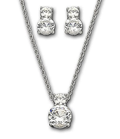 Swarovski Brilliance Pendant Necklace & Earrings Set