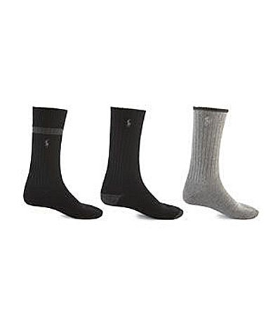 Polo Ralph Lauren Soft Touch Casual Socks 3-Pack