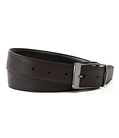 Roundtree & Yorke Big & Tall Reversible Leather Belt