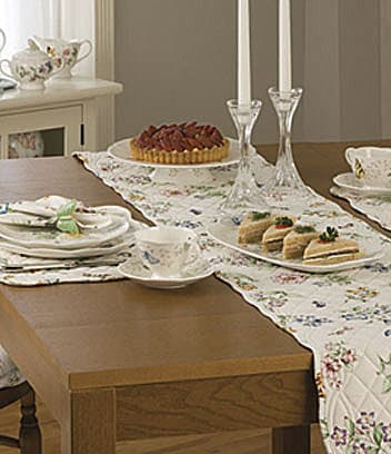 Lenox Butterfly Meadow Quilted Table Linens