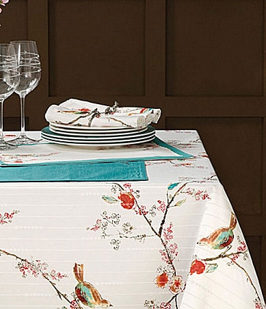 Lenox Chirp Table Linens & Napkin Ring