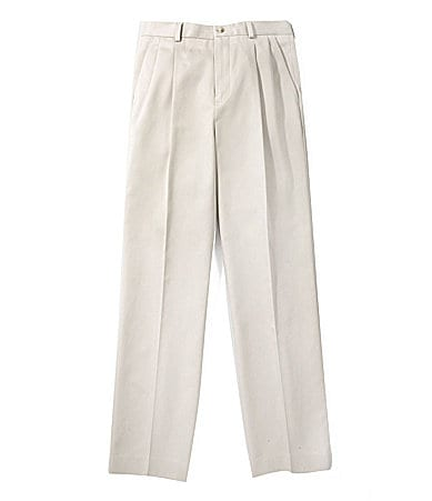 Class Club Gold Label 8-20 Pleated Twill Pants