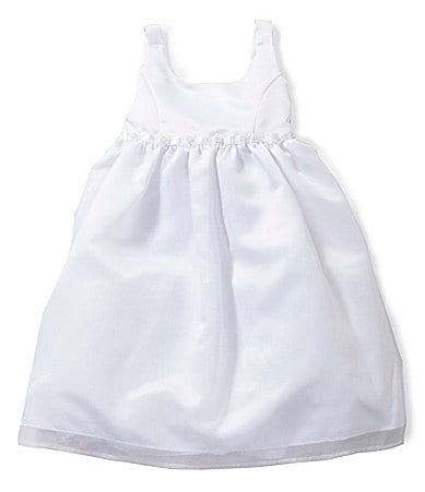Jayne Copeland Toddler Satin/Organza Dress