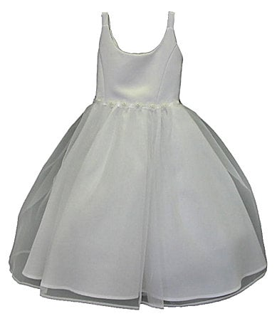 Jayne Copeland 4-6X Satin/Organza Dress
