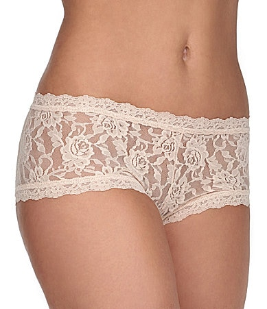 Hanky Panky Stretch Lace Boy Shorts