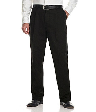 Roundtree & Yorke Pleated Performance Chino Pants