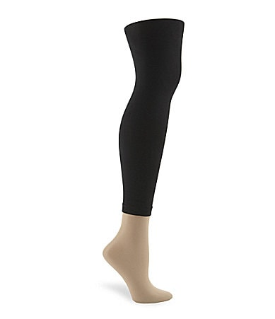 Hue Super-Opaque Footless Control Top Tights