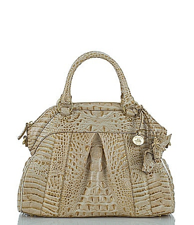 Brahmin Les Roses Collection Louise Rose Satchel