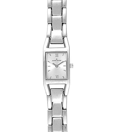 Anne Klein Silver-Dial Watch
