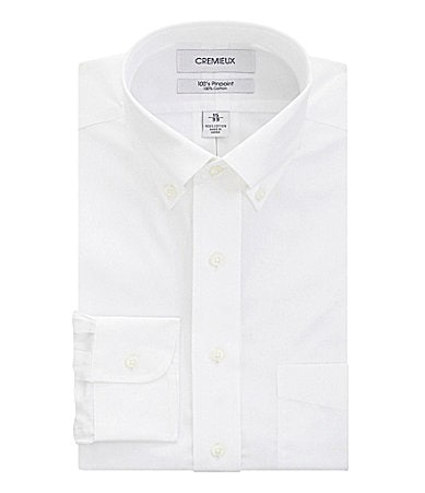Cremieux Button-Down-Collar Dress Shirt