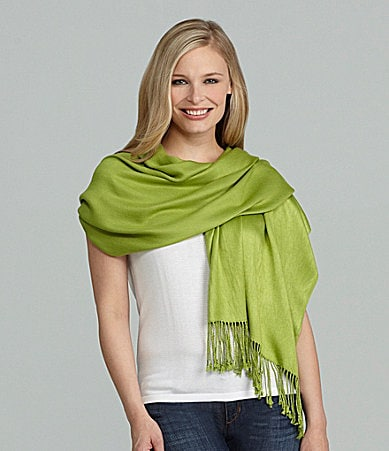 Jones New York Satin-Finish Pashmina