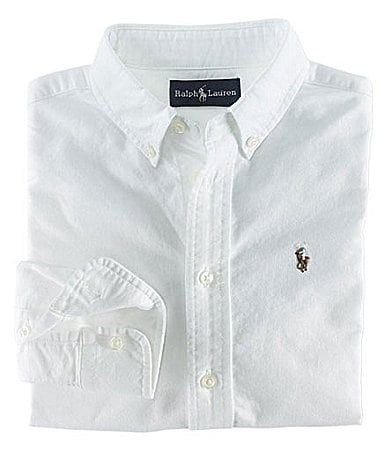 Ralph Lauren Childrenswear 2T-7 Oxford Shirt