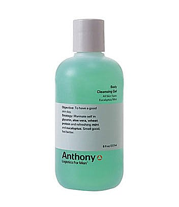 Anthony Logistics For Men Eucalyptus/Mint Body Cleansing Gel