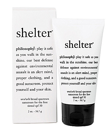 philosophy Shelter Tinted Sunscreen For The Face SPF 30