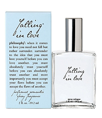 philosophy falling in love spray fragrance