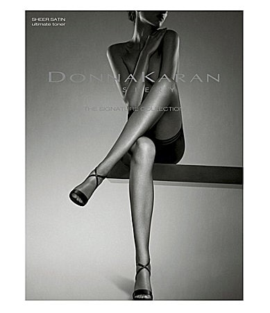 Donna Karan Signature Collection Sheer Satin Ultimate Toner Hosiery