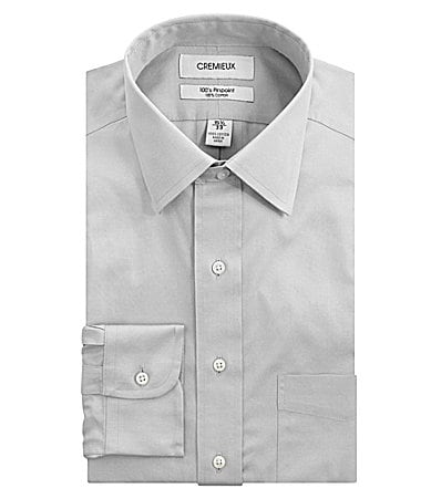Cremieux Spread-Collar Dress Shirt