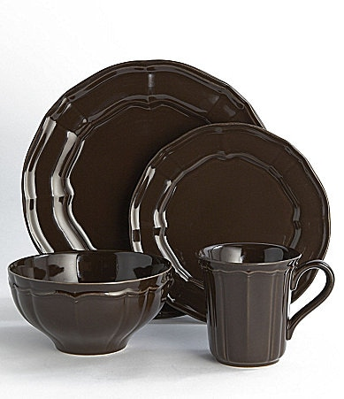 Noble Excellence Toscano Brown Dinnerware