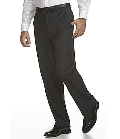Perry Ellis Classic-Fit Textured Dress Pants