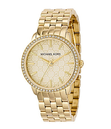 Michael Kors Champagne-Dial Watch