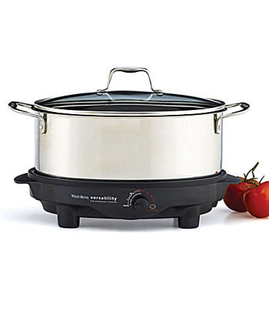 West Bend 6-Quart Oval Slow Cooker