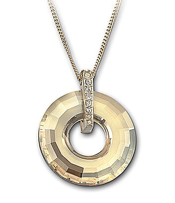 Swarovski Loop Pendant Necklace
