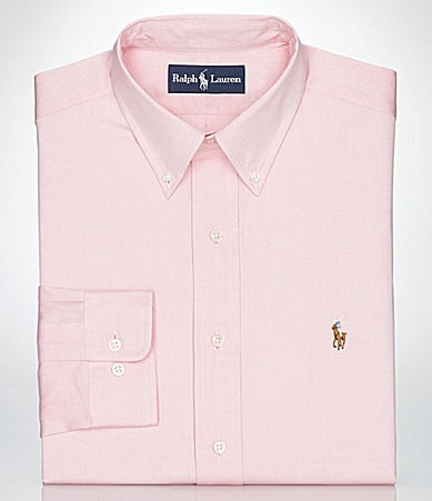 Polo Ralph Lauren Classic-Fit Button-Down-Collar Oxford Dress Shirt