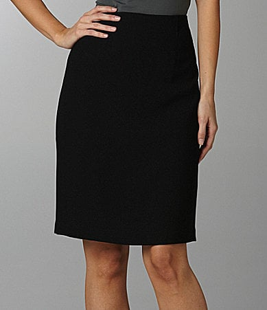 Peter Nygard Hollywood-Waist Pencil Skirt