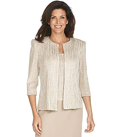 Alex Evenings Woman Twin Set & Skirt
