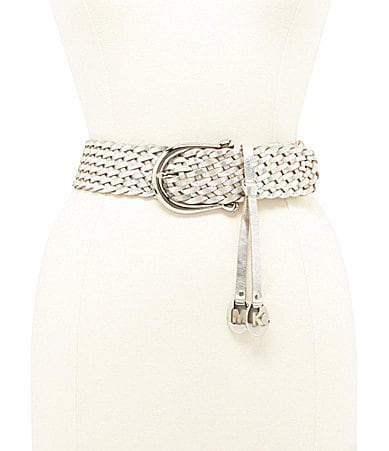 Michael Kors Braided Belt