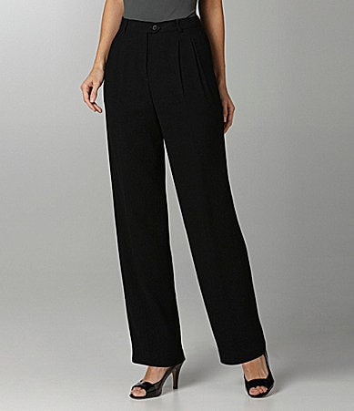 Peter Nygard Petites Double-Pleat Trousers
