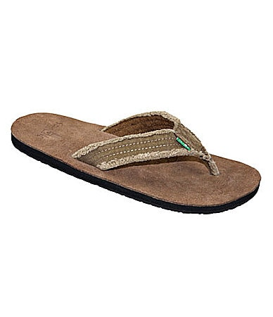 Sanuk Frayed Not Thong Sandals