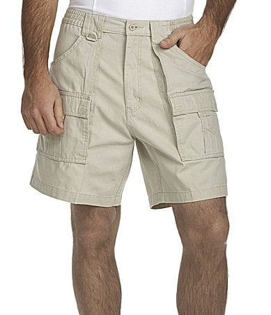 Hook & Tackle Beer Can Cargo Shorts